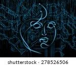 human geometry series. backdrop ... | Shutterstock . vector #278526506