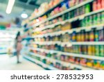 supermarket blur background... | Shutterstock . vector #278532953
