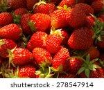 strawberry fruit           Shutterstock . vector #278547914