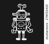 robot doodle | Shutterstock . vector #278552420