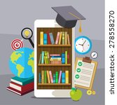 concept of education.... | Shutterstock .eps vector #278558270