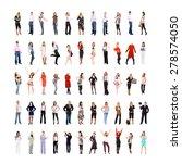 united colleagues teamwork... | Shutterstock . vector #278574050