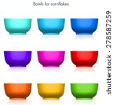 Corn Flakes Bowl Aqua  Blue ...