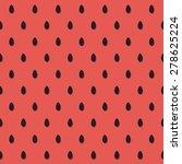watermelon pattern design ... | Shutterstock .eps vector #278625224