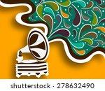 retro musical instrument ...   Shutterstock .eps vector #278632490