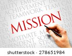 mission word cloud  business... | Shutterstock . vector #278651984
