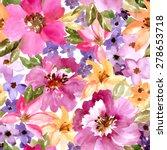 Seamless Beautiful Pattern Wit...