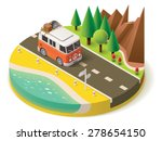 vector isometric icon... | Shutterstock .eps vector #278654150