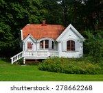 small white house | Shutterstock . vector #278662268