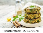 Spicy Vegan Curry Burgers With...