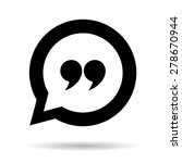 quote icon | Shutterstock .eps vector #278670944