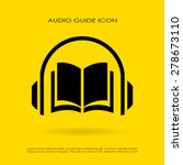 audio guide icon | Shutterstock .eps vector #278673110
