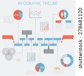 infographic timeline  ... | Shutterstock .eps vector #278681120