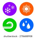 set weather buttons icon for...