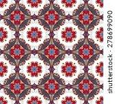 vector seamless pattern.... | Shutterstock .eps vector #278699090