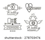 set photography hipster badges... | Shutterstock .eps vector #278703476