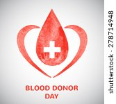 Blood Donor Day Concept...