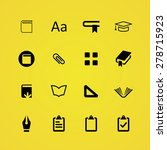books icons universal set for... | Shutterstock .eps vector #278715923