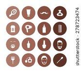 barbershop icons universal set... | Shutterstock .eps vector #278723474