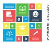 books icons universal set for...   Shutterstock .eps vector #278726690