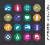 beauty salon icons universal... | Shutterstock .eps vector #278727269