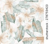vector seamless pattern with... | Shutterstock .eps vector #278753423