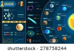 astronomical scientific space... | Shutterstock .eps vector #278758244
