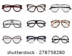 realistic modern fashion... | Shutterstock .eps vector #278758280