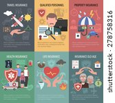 Insurance Mini Poster Set With...