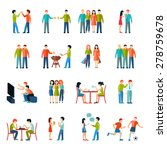 friends relationship people... | Shutterstock .eps vector #278759678