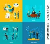 collaboration design concept... | Shutterstock .eps vector #278764424