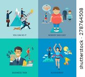 motivation design concept set... | Shutterstock .eps vector #278764508