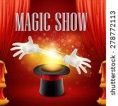 Magic Trick Performance  Circus ...