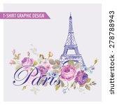 Floral Paris Graphic Design  ...