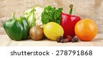 group of nutrients full of... | Shutterstock . vector #278791868