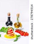 salad caprese   Shutterstock . vector #278794514