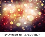 Abstract Bokeh Shiny Background.
