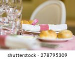 beautiful holiday  table... | Shutterstock . vector #278795309