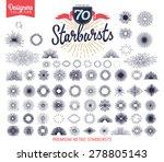 70 premium starburst. designers ... | Shutterstock .eps vector #278805143