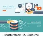cloud computing illustration... | Shutterstock .eps vector #278805893