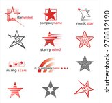 Graphic Symbols With Stars....