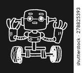 robot doodle   Shutterstock . vector #278825393