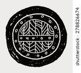 shield doodle | Shutterstock . vector #278826674