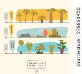 plants collection vector... | Shutterstock .eps vector #278831450