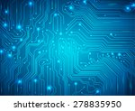 technological vector background ... | Shutterstock .eps vector #278835950