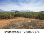 deforestation  scarred earth... | Shutterstock . vector #278839178
