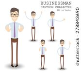 businessman cartoon character... | Shutterstock .eps vector #278843690