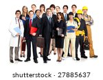 business people  builders ... | Shutterstock . vector #27885637