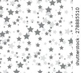 star in a chaotic pattern ... | Shutterstock .eps vector #278885510