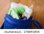 Women's Handbag With Items To...